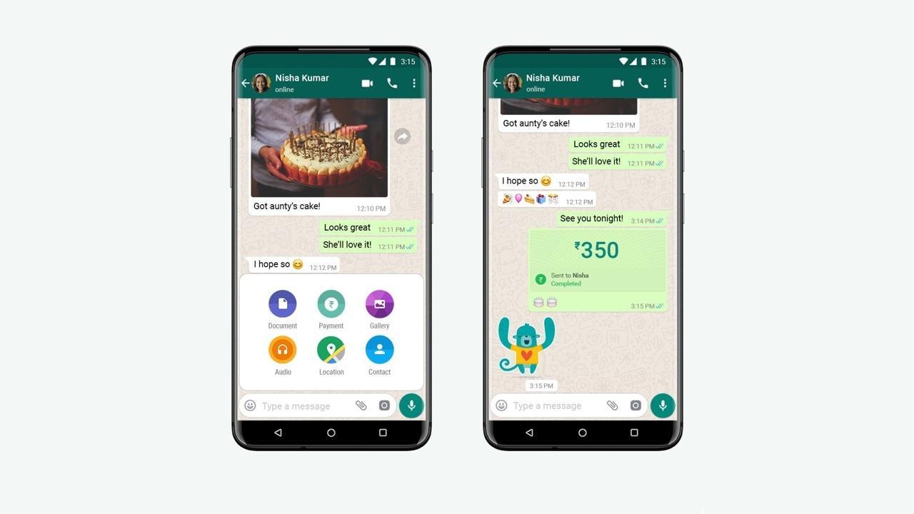 Comment effectuer des paiements sur WhatsApp