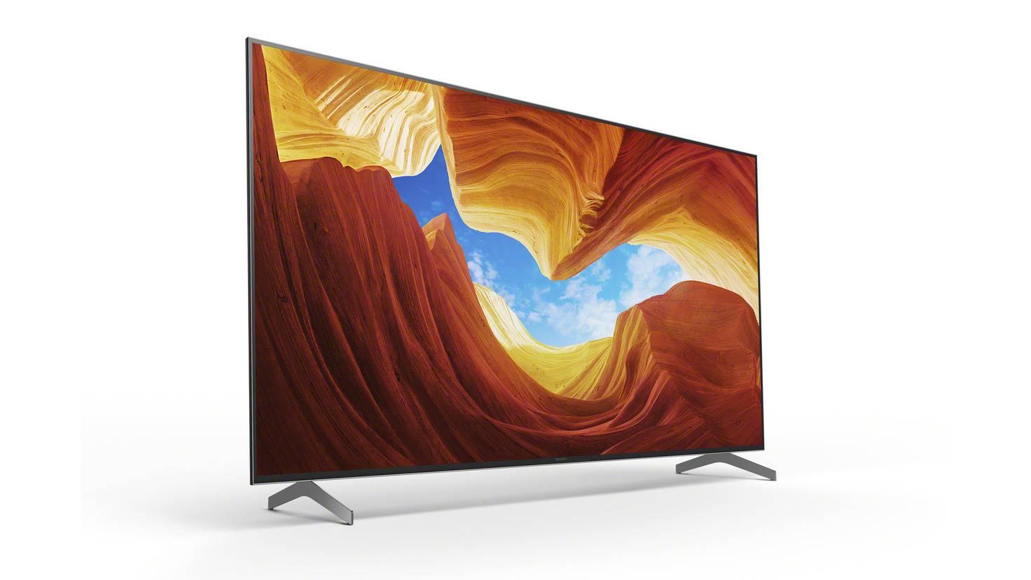 conception de télévision sony xh90 tv