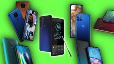 Téléphones Motorola