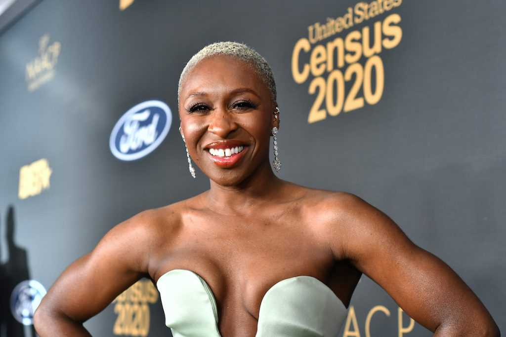 Cynthia Erivo attends the 51st NAACP Image Awards, Presented by BET, at Pasadena Civic Auditorium on February 22, 2020