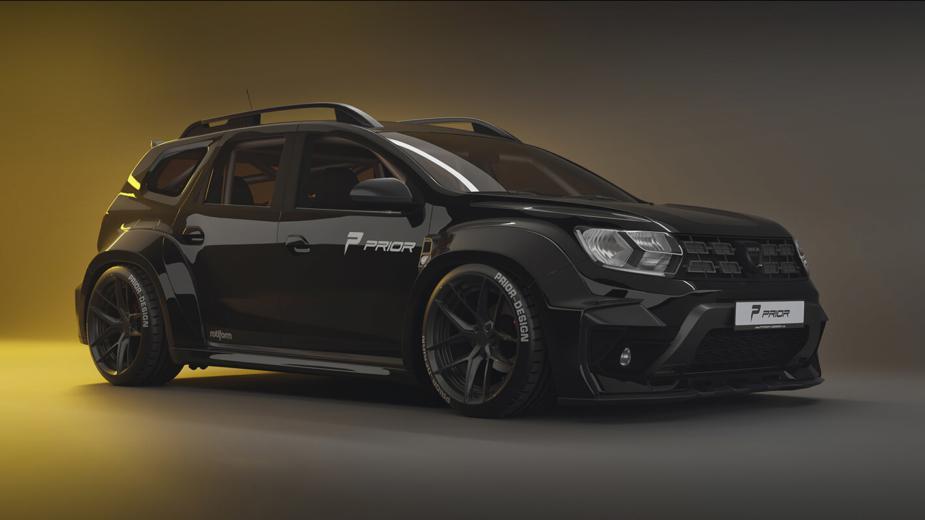 Dacia Duster Widebody Concept. S'il Y Avait Un Duster Sportif,