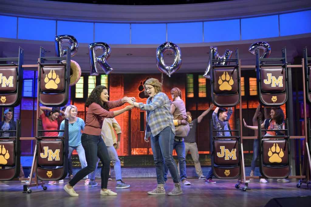 Le casting de `` The Prom '' de Broadway se produit sur Walt Disney Television