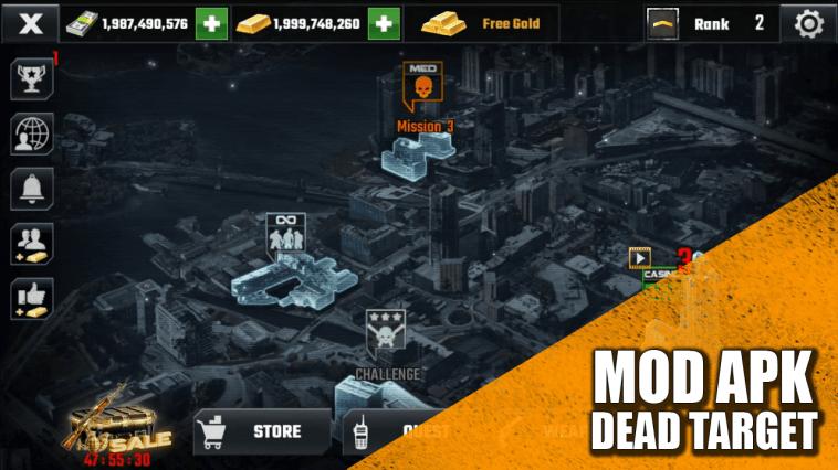 Dead Target Mod Apk: Téléchargez Comme The Zombie's In The