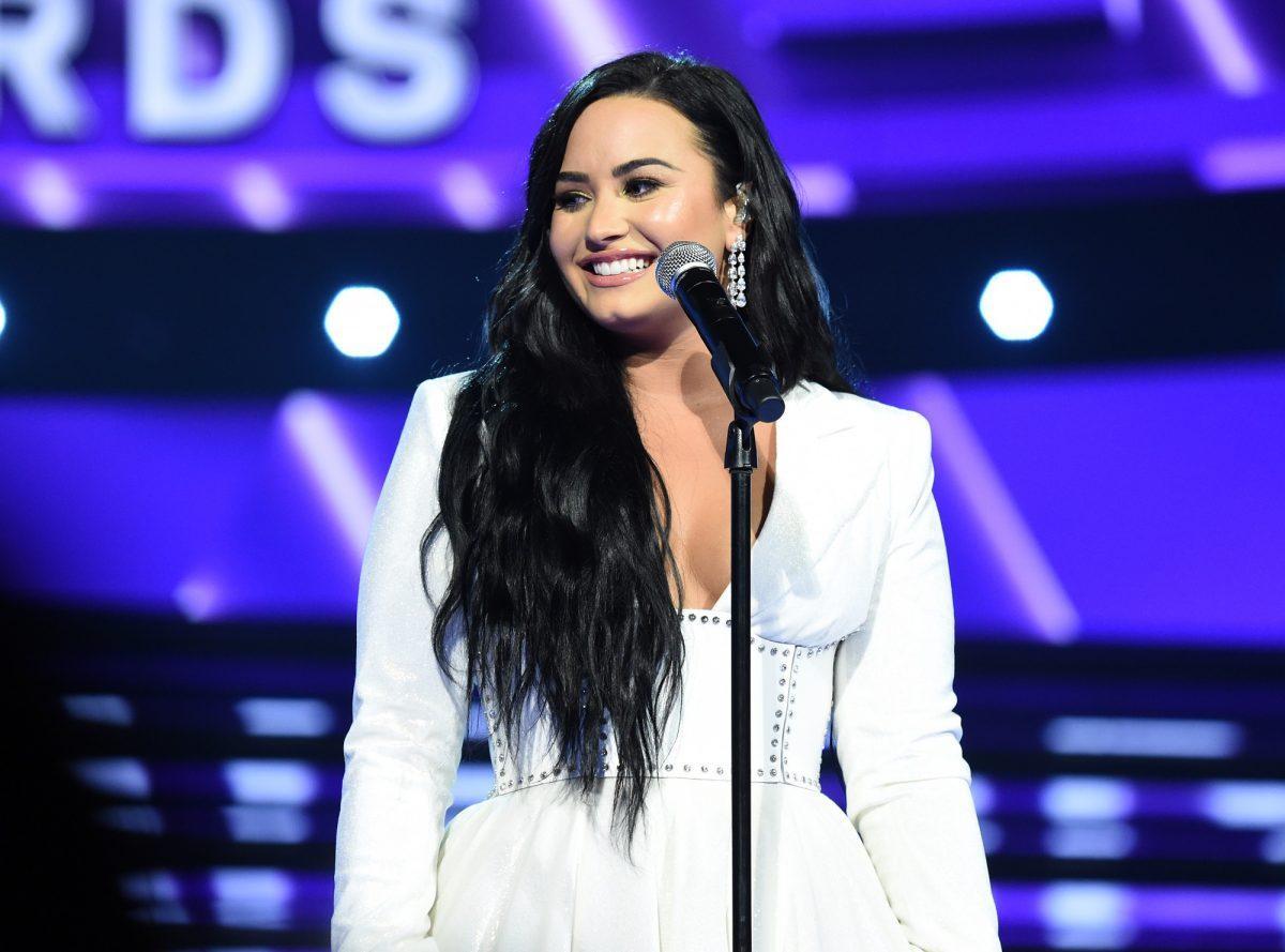 Demi Lovato se produit aux 62ème prix GRAMMY annuels le 26 janvier 2020 à Los Angeles, Californie.