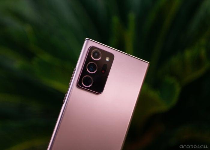 Appareils photo du Samsung Galaxy Note20 Ultra