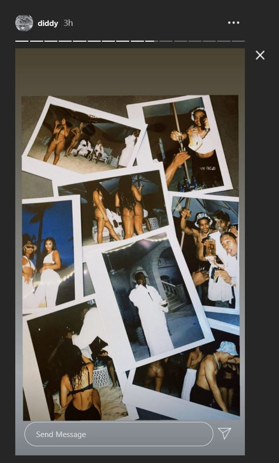 Draya, Diddy, Amour, Anniversaire, French Montana