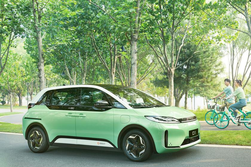 Didi Chuxing, le chinois Uber, présente sa voiture électrique en collaboration avec BYD et conçue spécifiquement avec des fonctions taxi