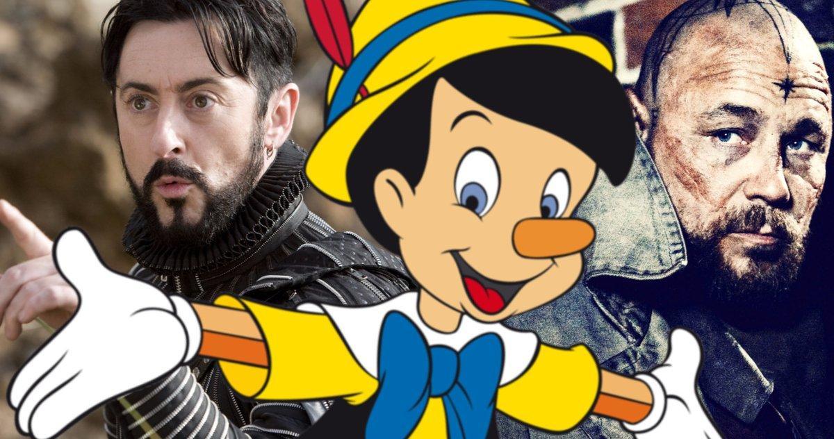 Disney's Pinocchio Remake Eyes Stephen Graham Et Alan Cumming