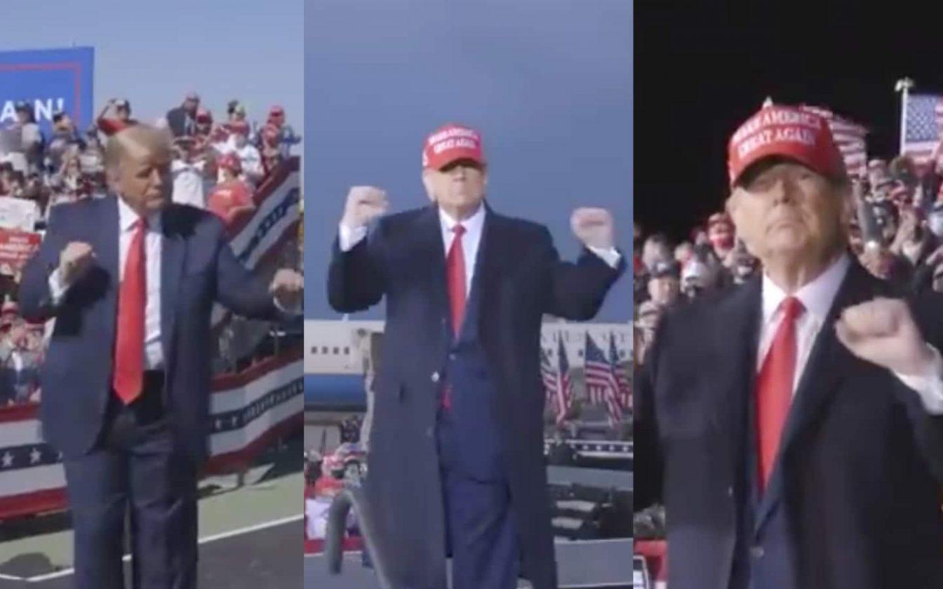 Donald Trump Danse Au Ymca De Village People Dans Une