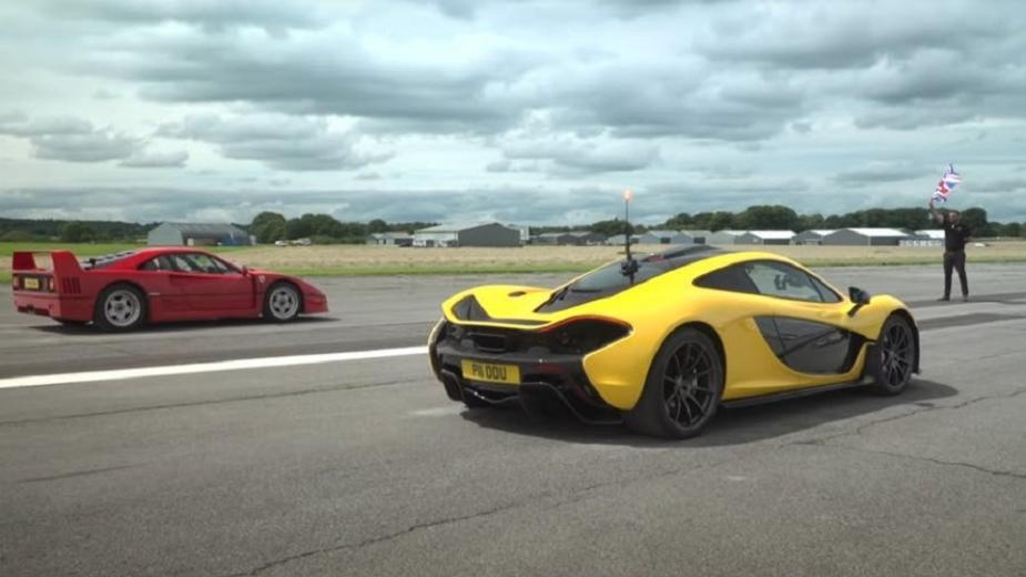 Duel De Générations: La Ferrari F40 Affronte La Mclaren P1