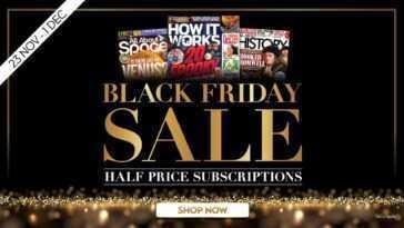 Économisez 50% Sur Vos Magazines Préférés Ce Black Friday