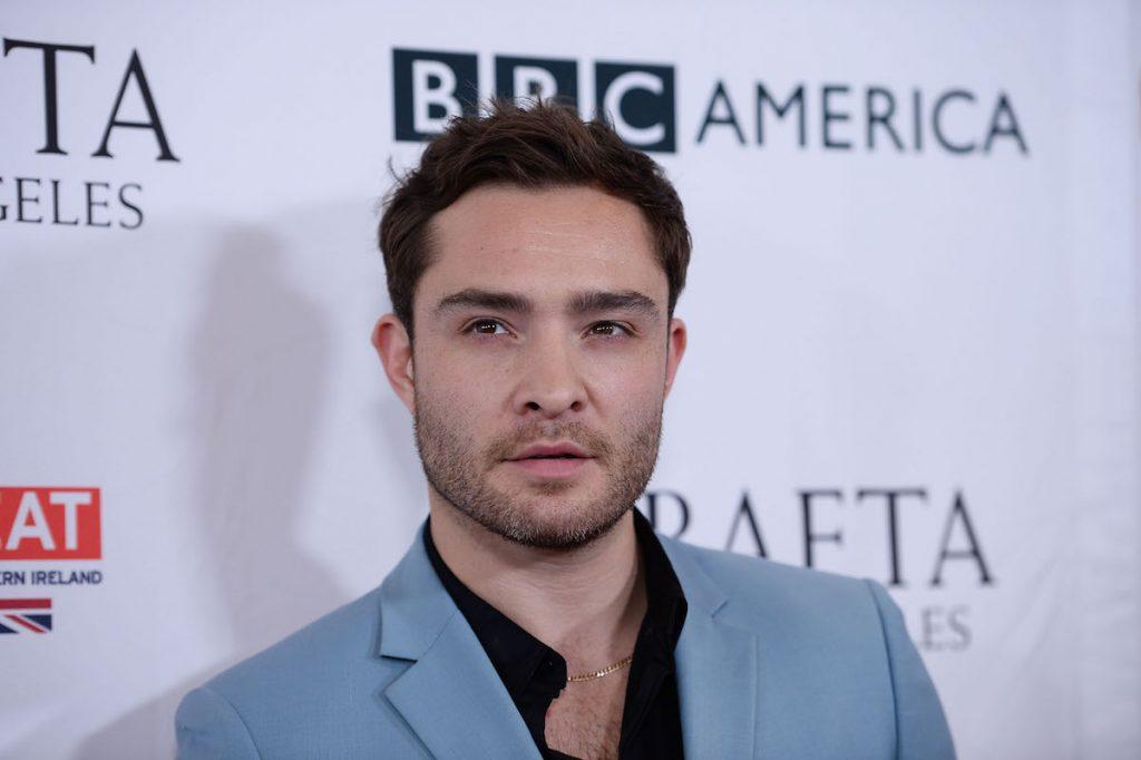 Ed Westwick arrives at the BBC America BAFTA Los Angeles TV Tea Party 2017