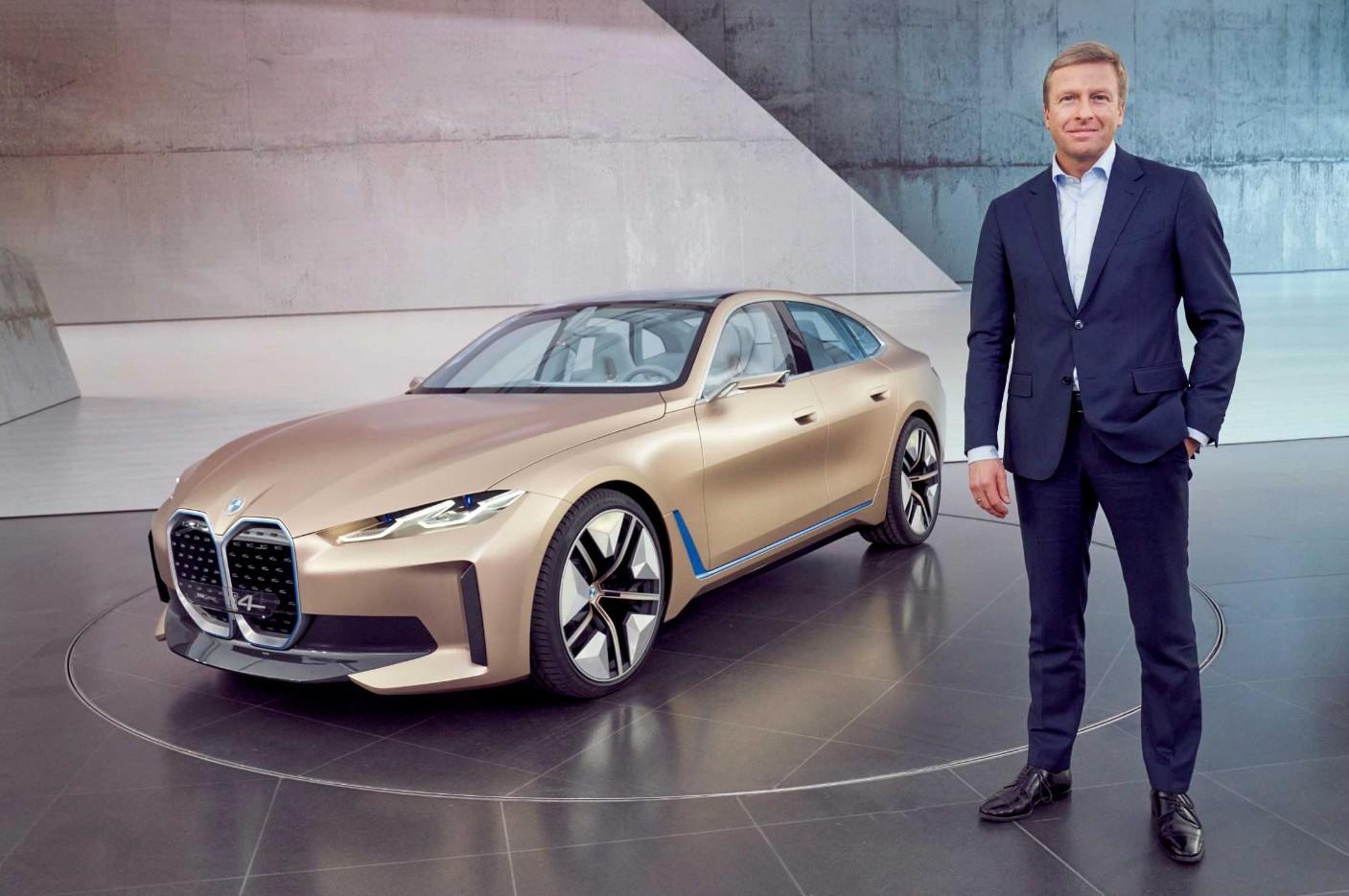 Oliver Zipse, PDG du groupe BMW