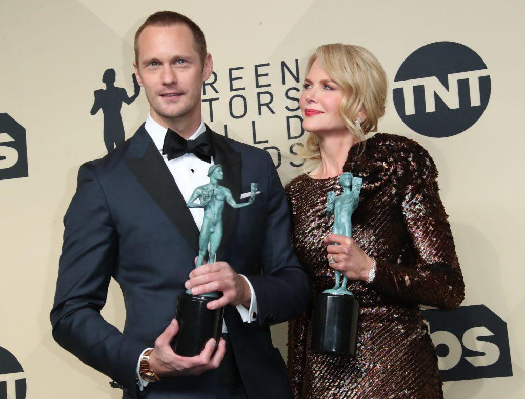 Nicole Kidman et Alexander Skarsgard de 'Big Little Lies'
