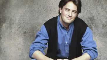 Matthew Perry as Chandler Bing in