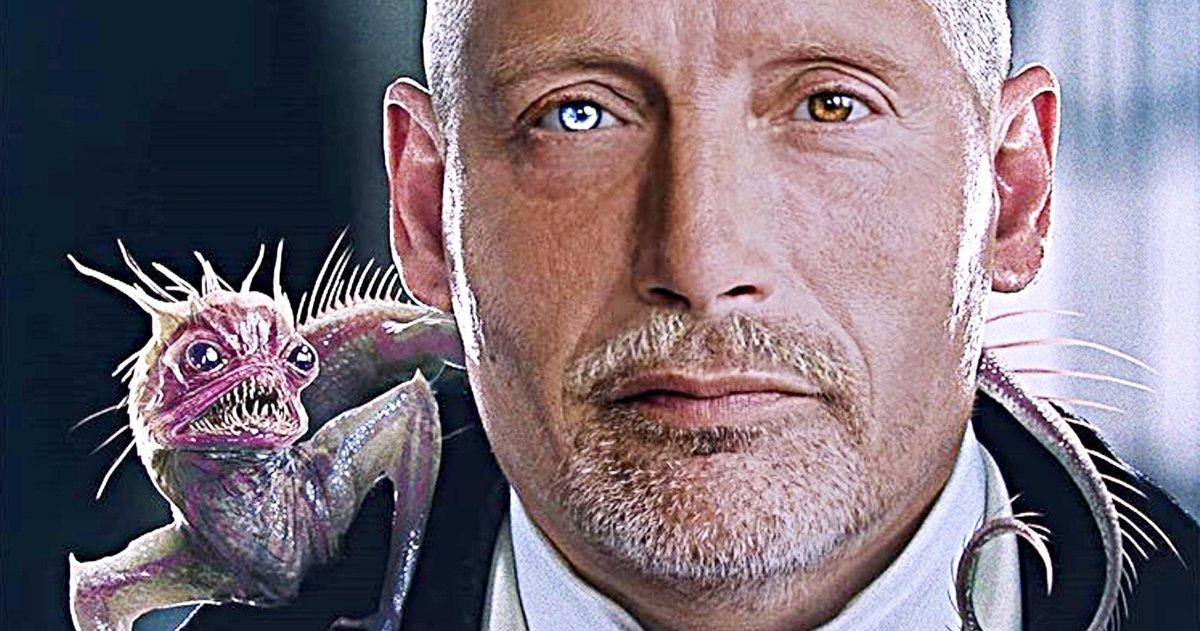 Fantastic Beasts 3 Fan Art Transforme Mads Mikkelsen En Gellert