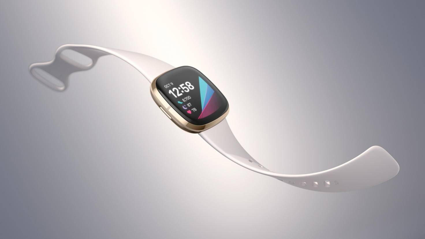 Fitbit propose la faux avec deux couleurs de boîtier différentes.