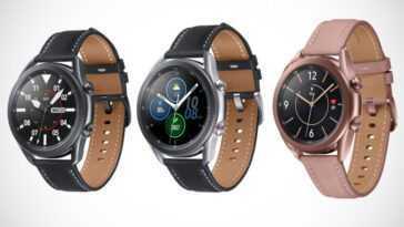 Galaxy Watch 3: Mise à Jour Pour Optimiser La Fonction