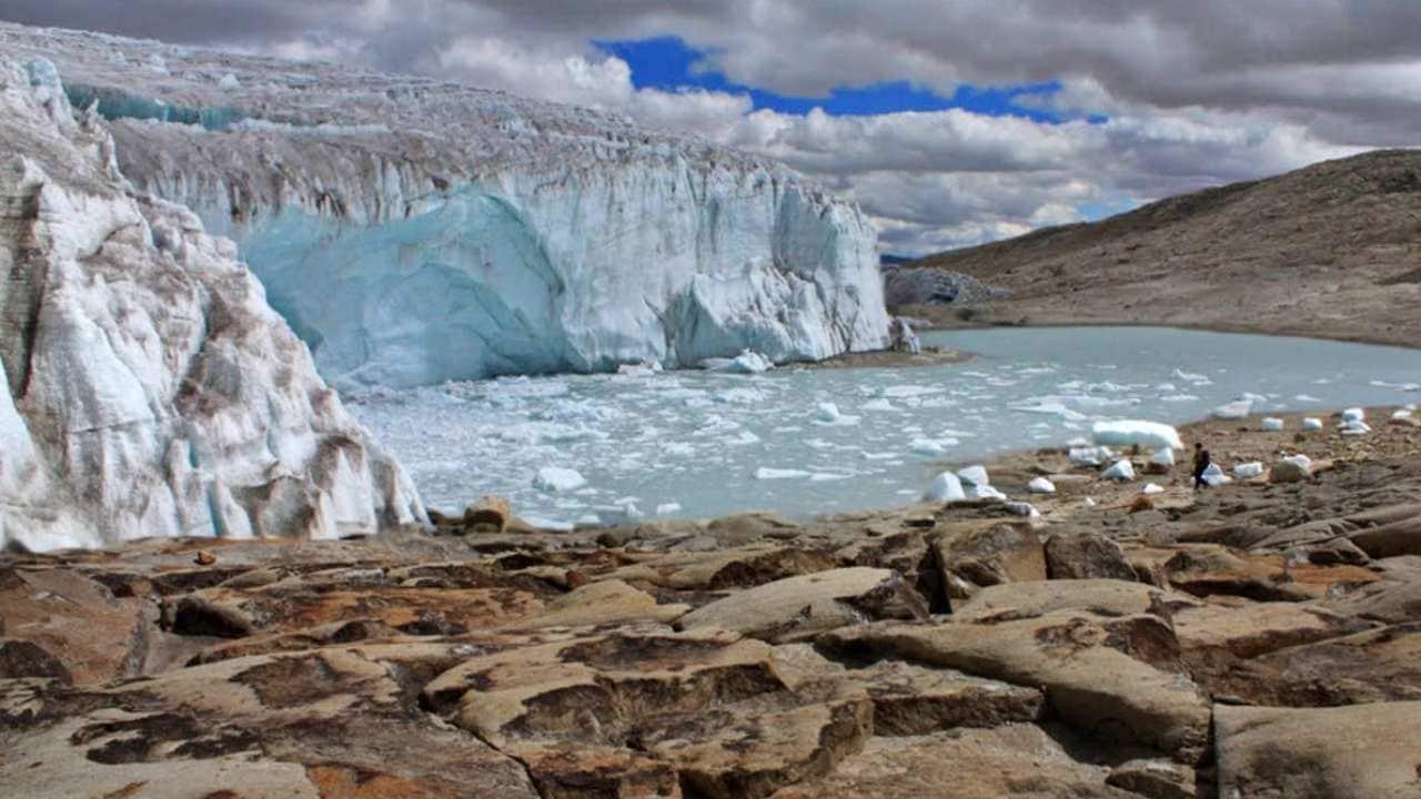 Glacier en voie de disparition: après l'avoir étudié pendant 14 ans, un glacier péruvien pourrait bientôt atteindre le point de non-retour