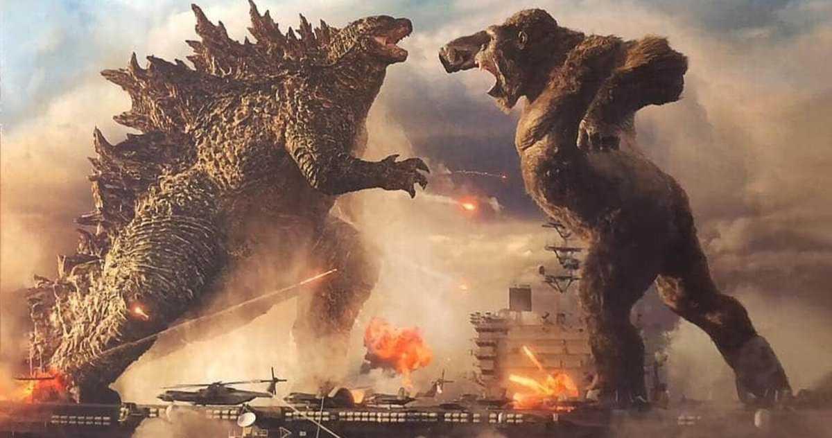 Godzilla Contre. Kong Passe Probablement Directement Au Streaming Premium Sur