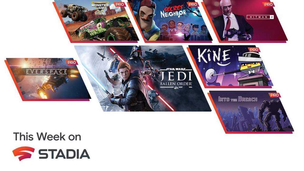 Google Stadia ajoutera six nouveaux jeux, dont Into the Breach, Hitman 2 et bien d'autres, à Stadia Pro le 1er décembre