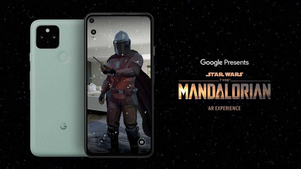 Google et Lucasfilm s'associent pour lancer l'application The Mandalorian AR pour les téléphones 5G Pixel et Android