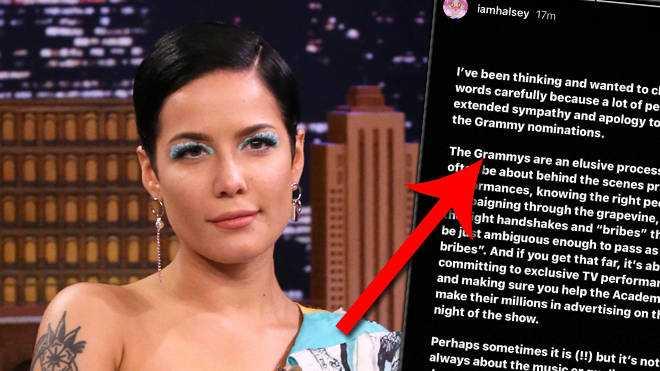 Halsey appelle les Grammys après avoir été snobé lors de la cérémonie de 2021