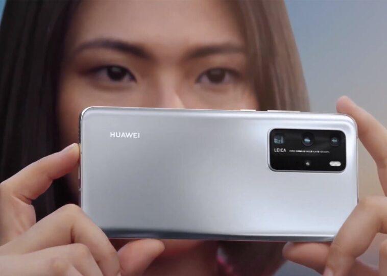 Huawei p40 Pro en gris