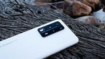 Huawei P40 Pro Plus, arrière avec caméras