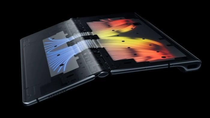 Le Huawei Mate Xs, un exercice d'ingénierie