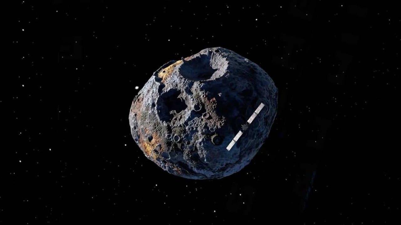 Hubble Scanne Un Astéroïde Psyché De 10000 Quadrillions De Dollars