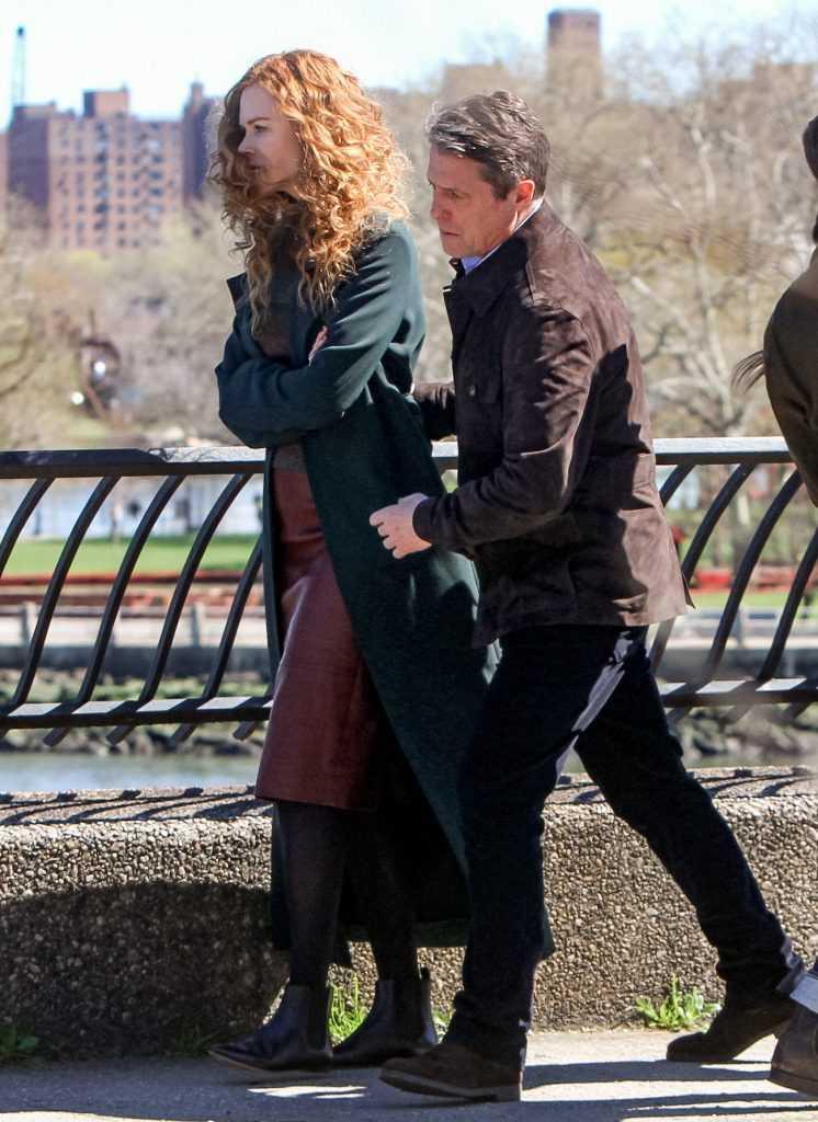 Nicole Kidman et Hugh Grant de The Undoing