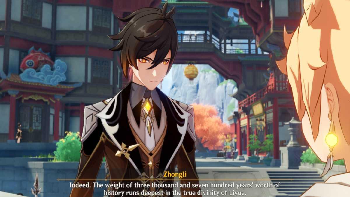 Impact Genshin: Compétences, Talents Et Ascension Zhongli