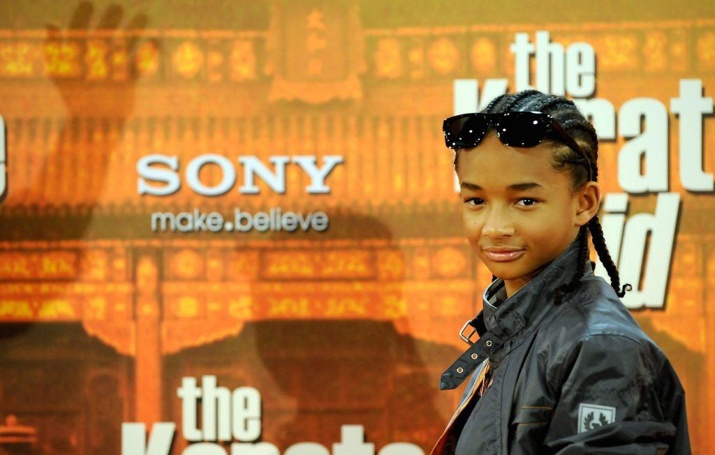 Jaden Smith assiste à un photocall `` The Karate Kid ''