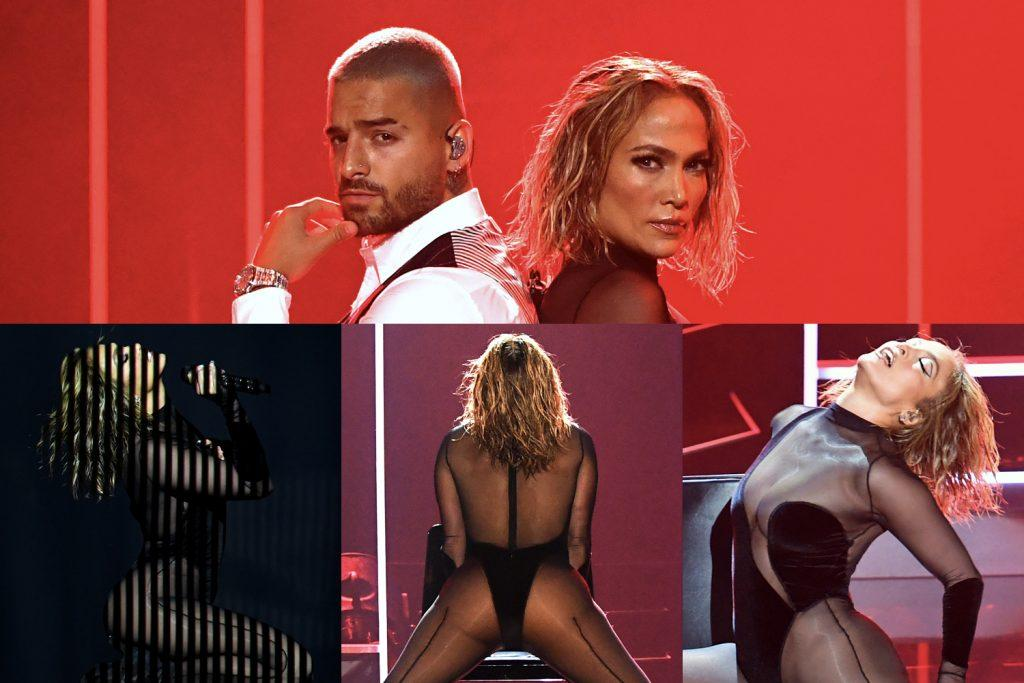 Maluma et Jennifer Lopez aux AMA 2020
