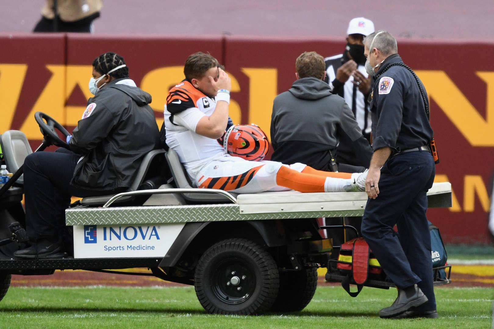 Joe Burrow, blessure
