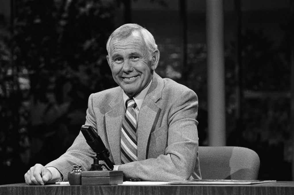Johnny Carson sur The Tonight Show