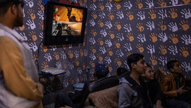 J'oublie le monde que les jeunes afghans trouvent de plus en plus de s'échapper dans les jeux vidéo