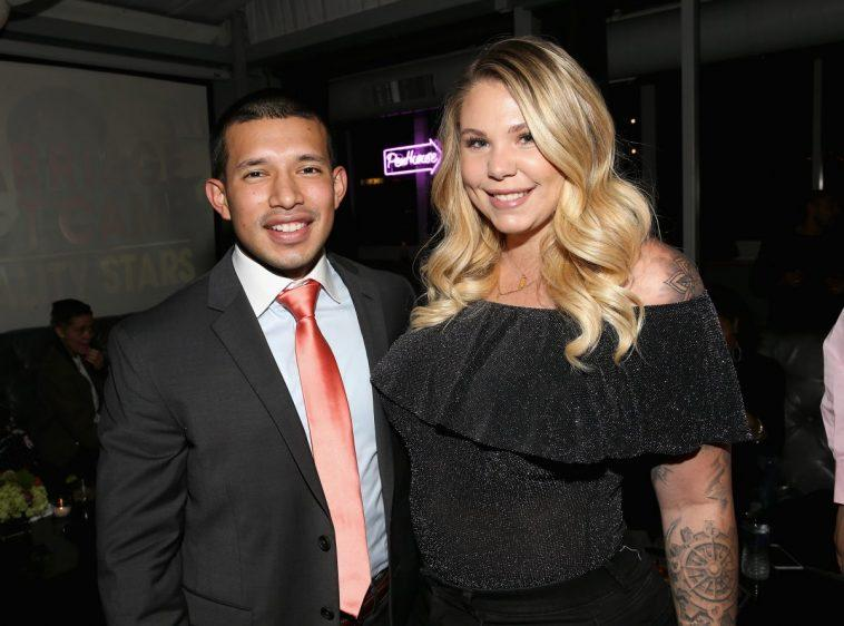 Javi Marroquin and Kailyn Lowry in New York City in 2017
