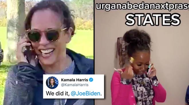Kamala Harris devient viral avec