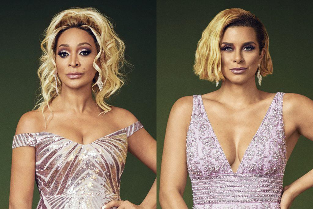 Karen Huger and Robyn Dixon