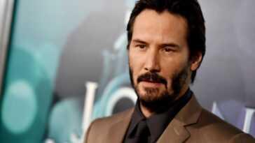 Keanu Reeves at a screening of