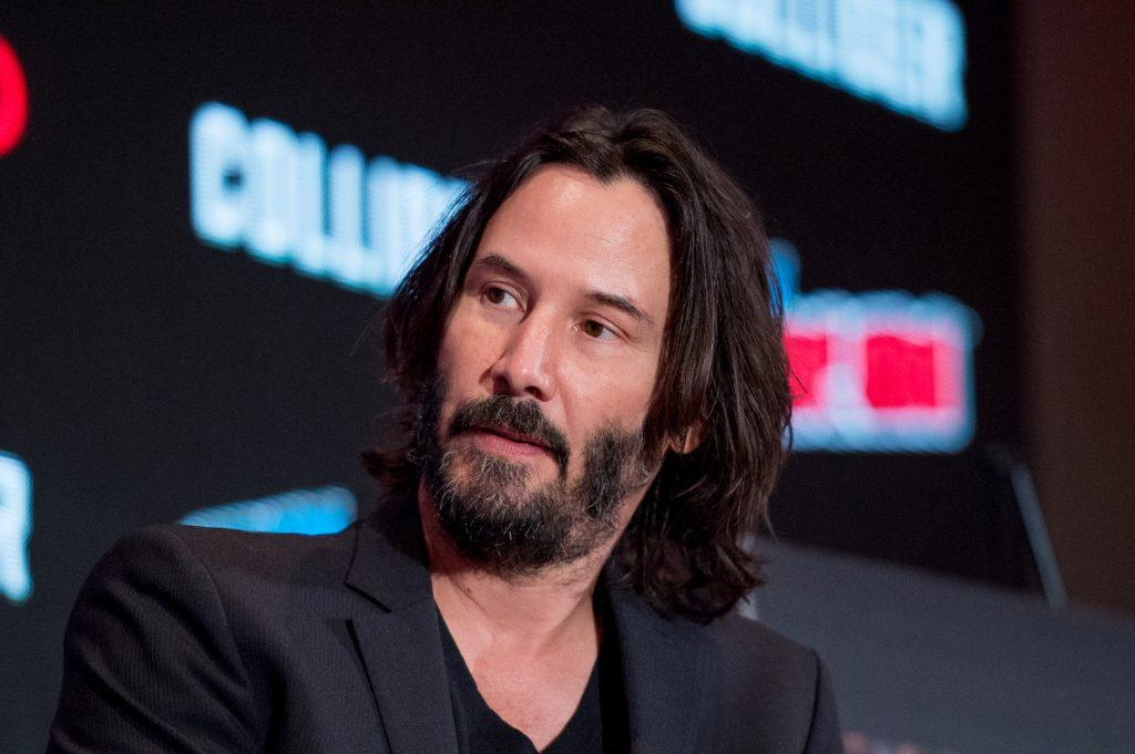 Keanu Reeves au New York Comic Con 2017