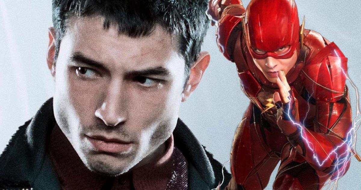 La Flash Star Ezra Miller A Tourné Une Nouvelle Scène