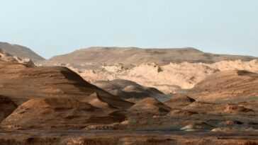 La Curiosité A Montré Que Mars A Connu Une Méga