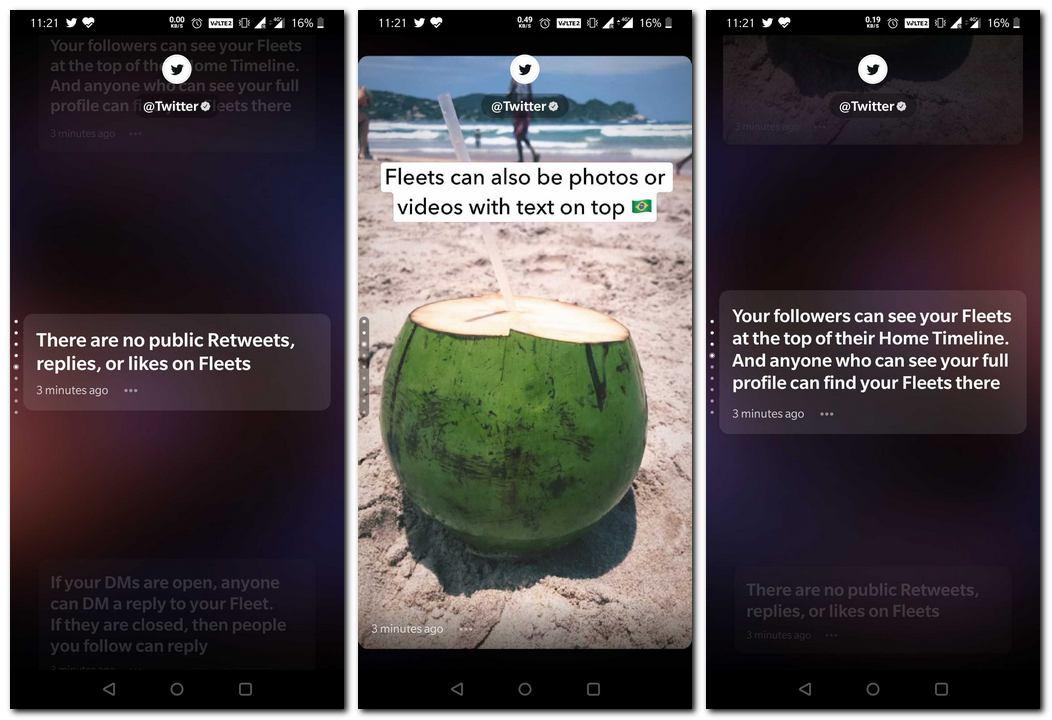 La fonctionnalité de type Twitters Instagram Stories, Fleets, commence à être déployée pour tous les utilisateurs du monde entier: comment cela fonctionne