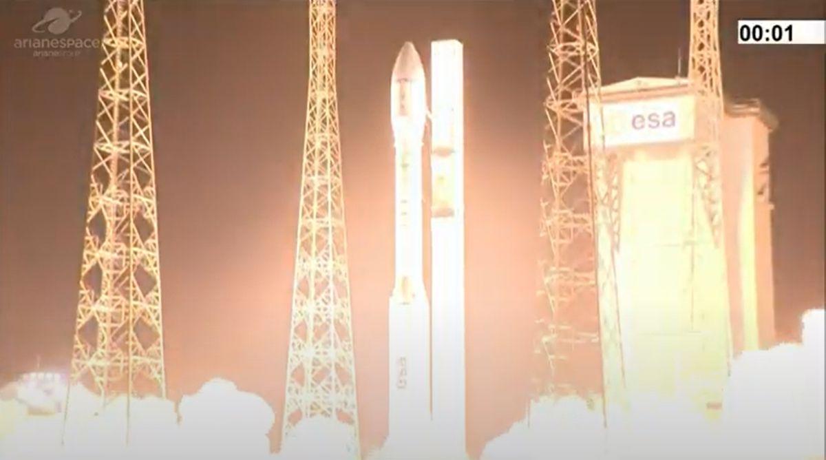 La Fusée Européenne Vega Subit Un échec Majeur Au Lancement,