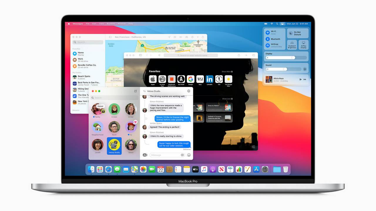 La mise à jour Apple macOS Big Sur corrige certains anciens modèles de MacBook Pro: rapport