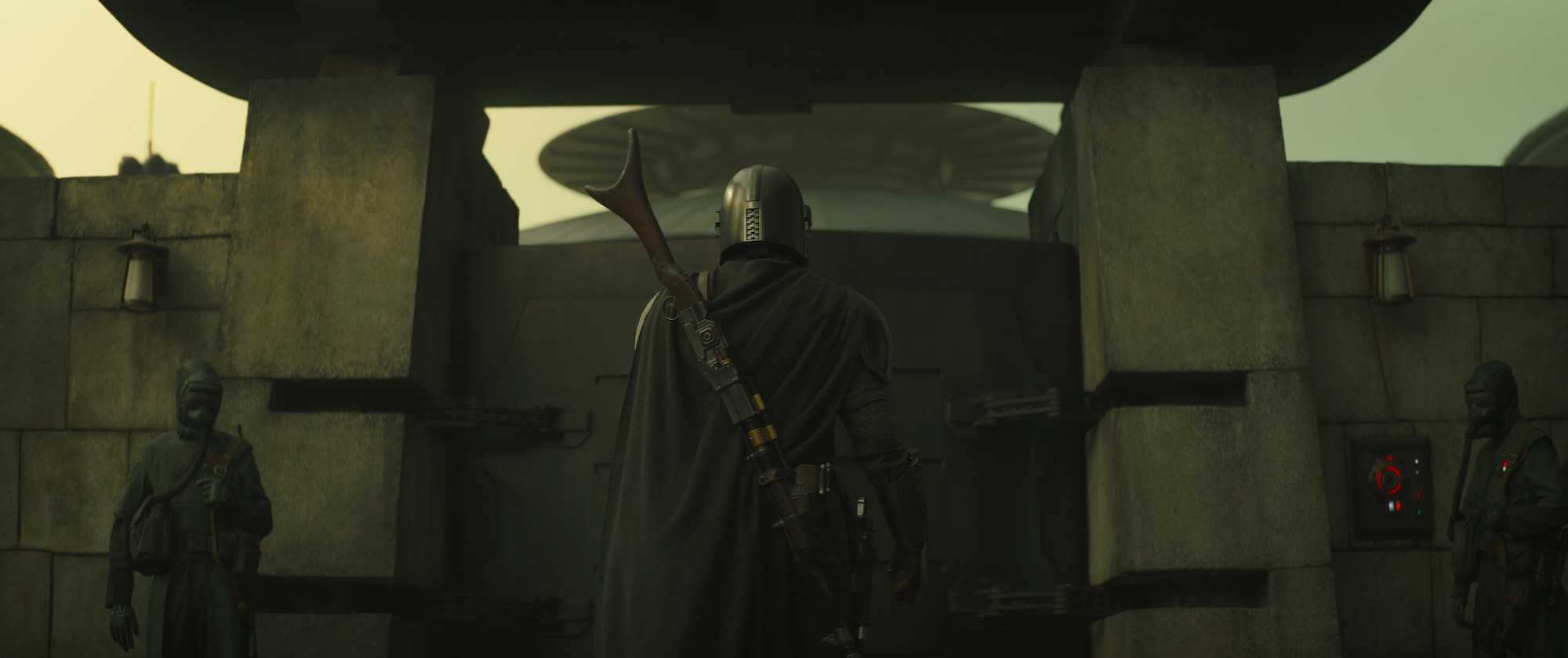 """Mando sur Corvus dans 'The Mandalorian' """"Chapitre 13: Les Jedi"""""""