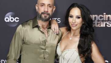 AJ McLean and Cheryl Burke